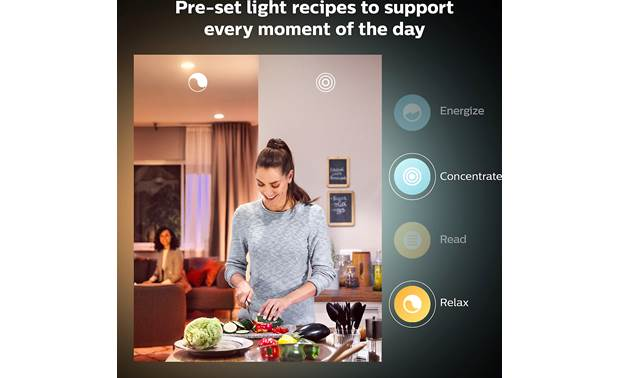 Philips Hue White and Color Ambiance E12 Bulb Other