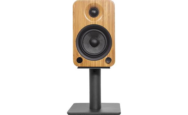 Kanto SP6HD Single stand shown with speaker in place