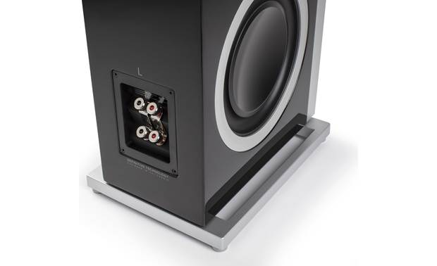 Definitive Technology Demand D17 Dual sets of speaker terminals allow bi-amping or bi-wiring