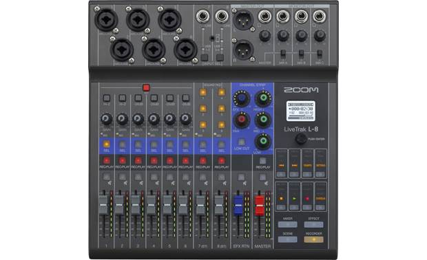 ZOOM LiveTrak L-8 Top