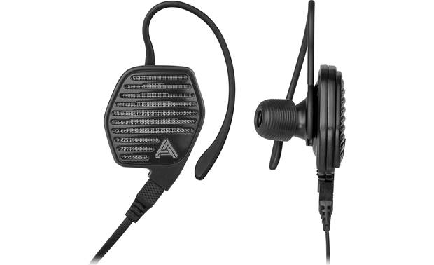 Audeze LCDi3 in-ear headphones Optional ear wings help secure and stabilize earbuds