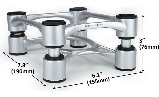 IsoAcoustics Aperta Speaker Stands Other