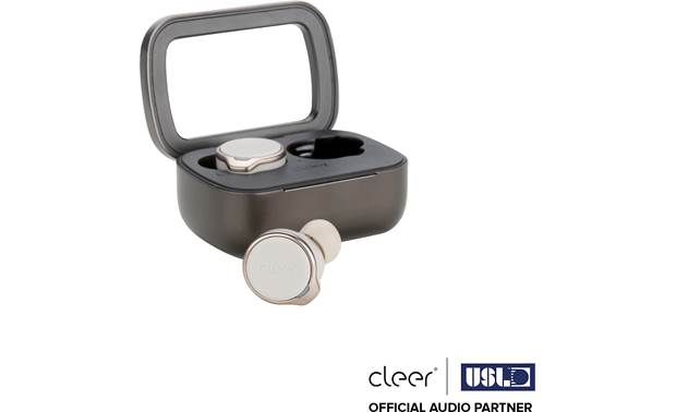 Cleer Ally Plus True wireless earbuds with Bluetooth 5.0 and up to 10 hours of battery life (with noise canceling off)