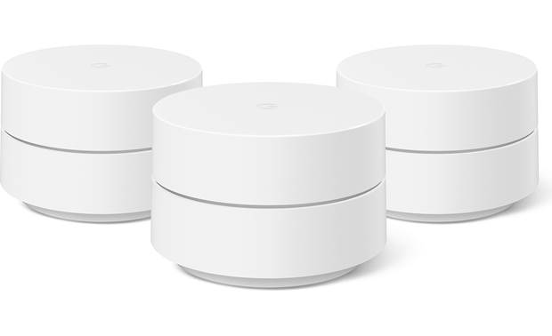 Google Wifi Three Pack Front