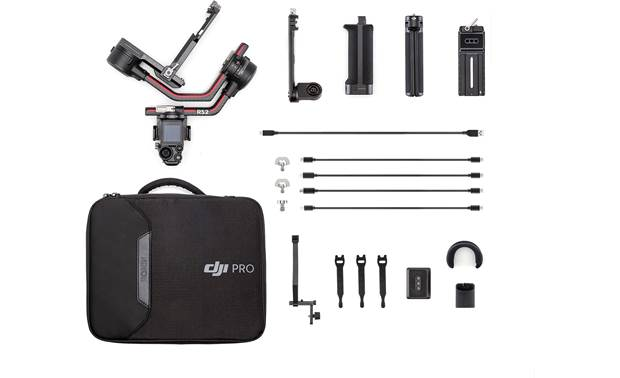 DJI Ronin RS 2 Shown with included accessories