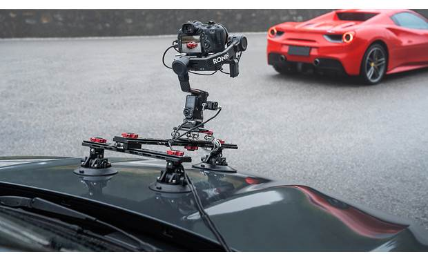 DJI Ronin RS 2 Optional accessories (sold separately) allow creative placement for unique perspectives