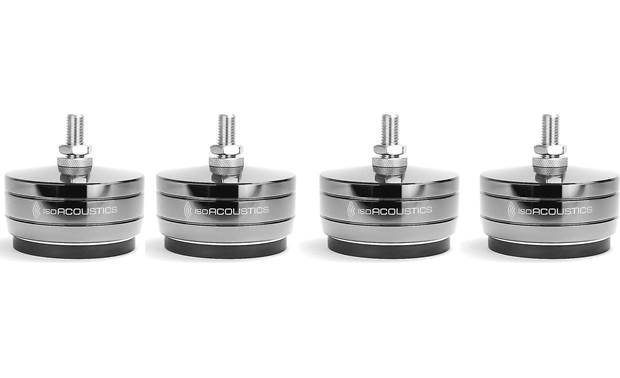 IsoAcoustics GAIA-TITAN Cronos 4-pack of isolation feet for improved musical performance with large floor-standing speakers