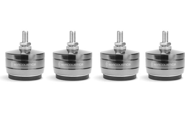 IsoAcoustics GAIA-TITAN Rhea 4-pack of isolation feet for improved musical performance with large floor-standing speakers