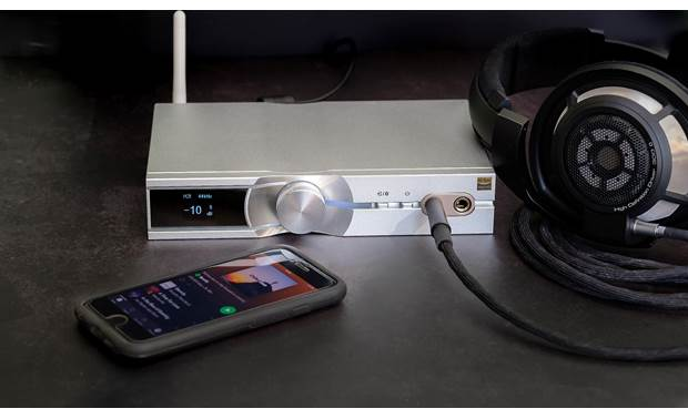 iFi Audio NEO iDSD Music plays wirelessly from your phone via Bluetooth 5.0