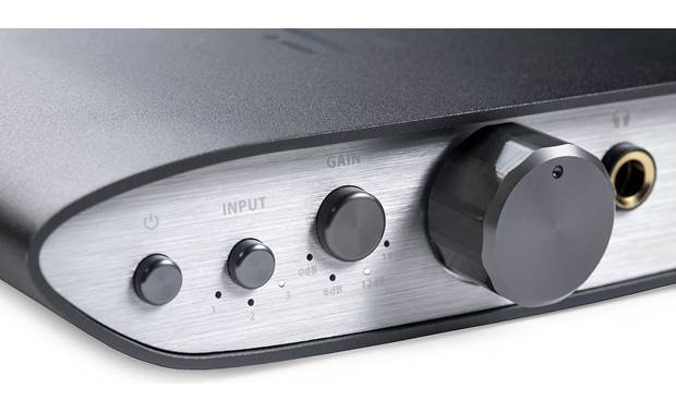 iFi Audio ZEN CAN (Standard Edition) Gain switch and old-school volume dial.