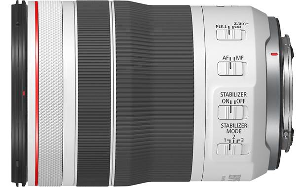 Canon RF 70-200mm f/4 L IS USM A customizable control ring on lens barrel allows direct adjustments to settings like shutter speed and aperture