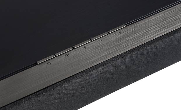 Definitive Technology Studio 3D Mini Controls on the top of the sound bar