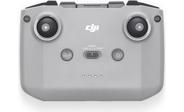 DJI Mini 2 Fly More Combo Remote controller connects to and docks compatible smartphones