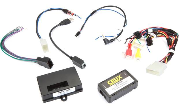 CRUX SWRTY-61P Wiring Interface Front