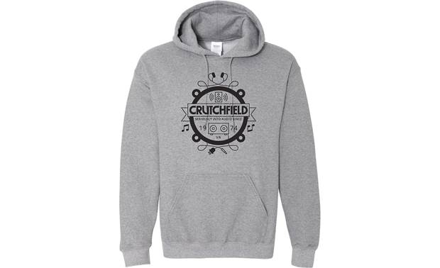 Gray Crutchfield Camp Hoodie Front