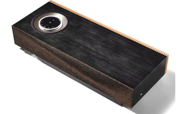 Naim for Bentley Mu-so Special Edition Lacquered ayous wood paneling