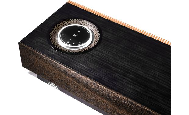 Naim for Bentley Mu-so Special Edition Littice pattern volume dial frame