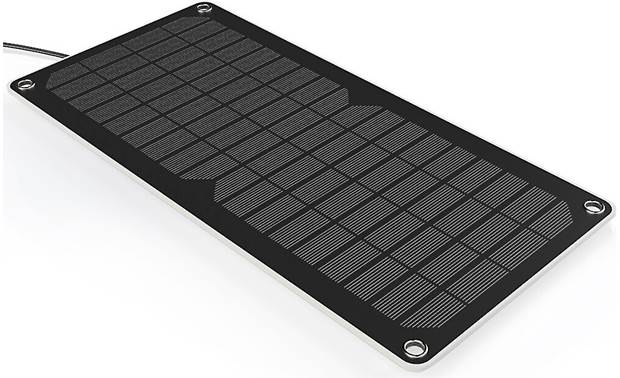 Renogy 10-watt Solar Charger Use the sun to keep your vehicle's battery safely charged