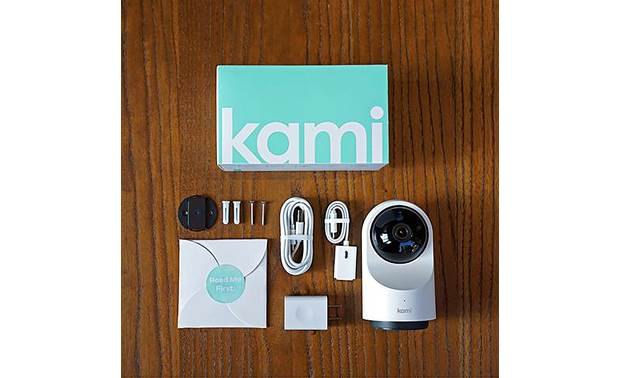 Kami Indoor Camera Includes mounting hardware
