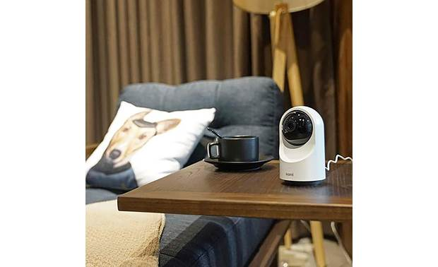 Kami Indoor Camera Can be set to automatically follow detected motion