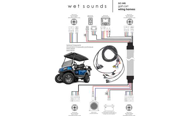 Wet Sounds GC-H4S Other
