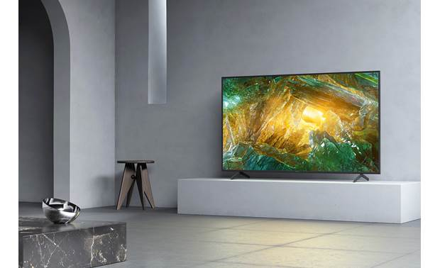 Sony XBR-65X800H Sleek design looks great in almost any kind of room