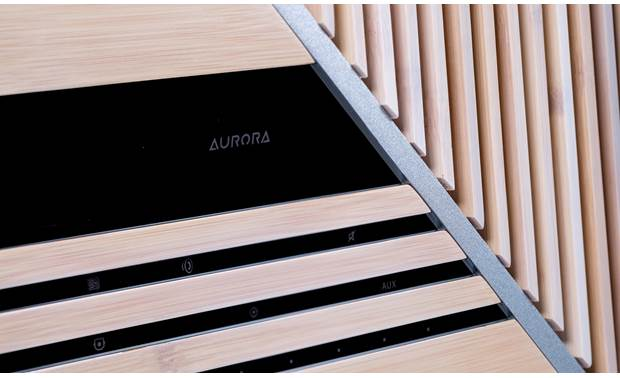 iFi Audio Aurora Bamboo and aluminum cabinet