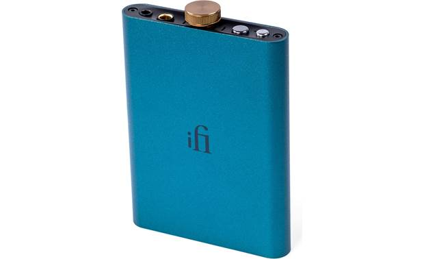 iFi Audio hip-dac Slim, battery-powered headphone amp/DAC that connects to your phone or computer