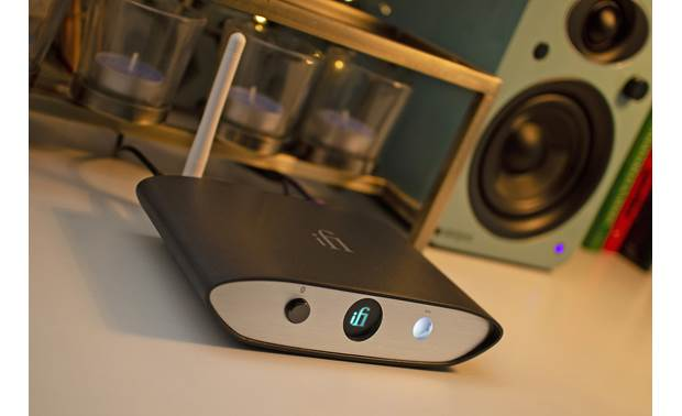 iFi Audio ZEN Blue Connects to your stereo, amp, or powered speakers and plays music wirelessly