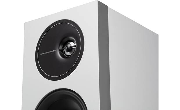 Definitive Technology Demand D15 Each speaker's tweeter is offset by half an inch for improved stereo imaging