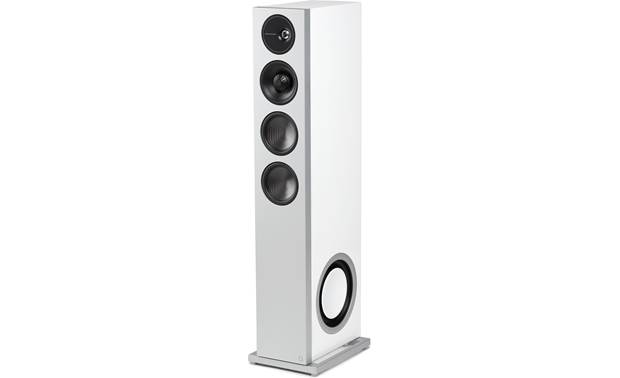 Definitive Technology Demand D15 Angled view of right speaker with grille removed