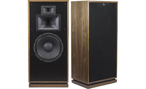 Klipsch Heritage Forte III Shown with one grille removed