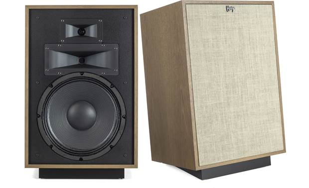 Klipsch Heritage Heresy IV Shown with one grille removed