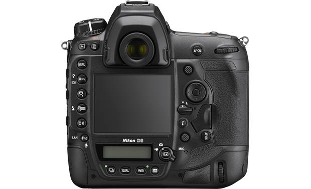 Nikon D6 (no lens included) High-resolution LCD touchscreen for simple, intuitive control