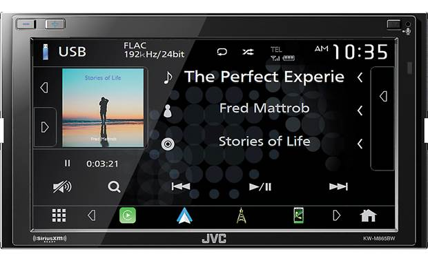 JVC KW-M865BW Other