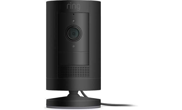 Ring Stick Up Cam Plug-In Can be free-standing or wall-mounted