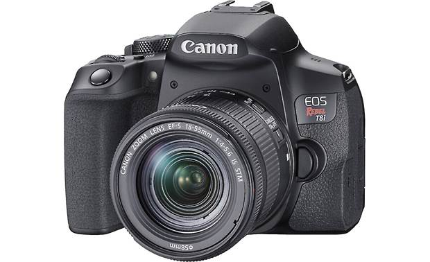 Canon EOS Rebel T8i Kit Shown with included lens