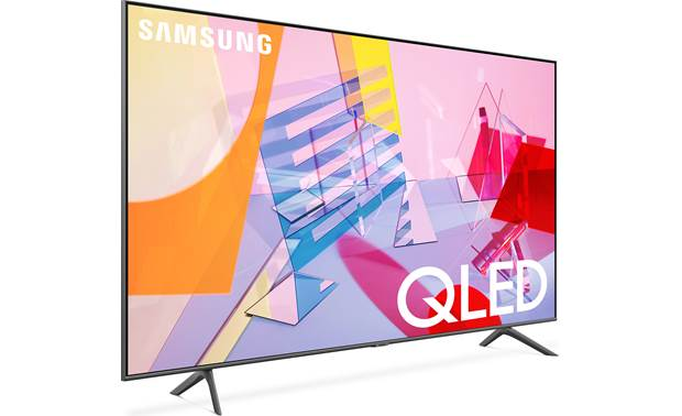 Samsung QN43Q60T Angled right