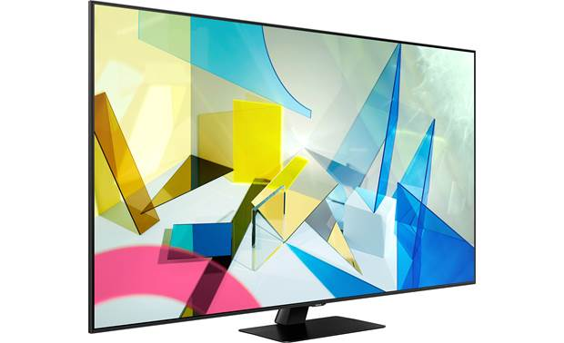 Samsung QN55Q80T Angled right