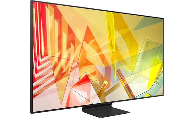 Samsung QN65Q90T Angled right