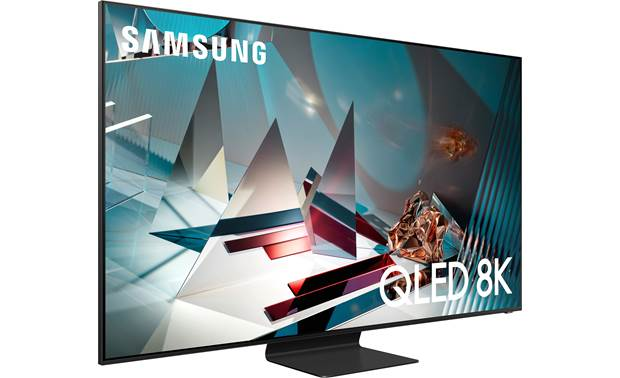 Samsung QN75Q800T Angled right