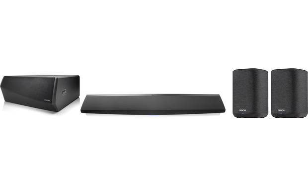 Denon Home Theater System with HEOS Built-in Front