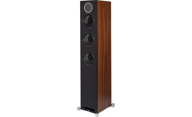 ELAC Debut Reference DFR52 Angled front view with grille removed