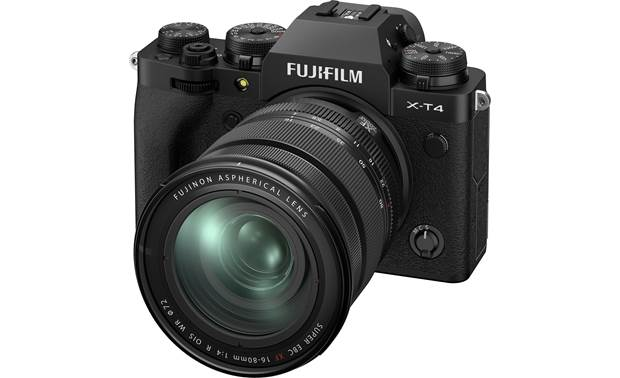 Fujifilm X-T4 Kit Angled front view