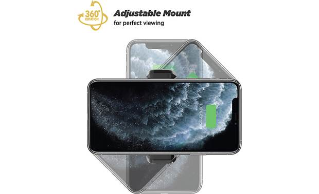 Scosche MGQWD-XTET 360-degree rotation lets you choose the viewing angle
