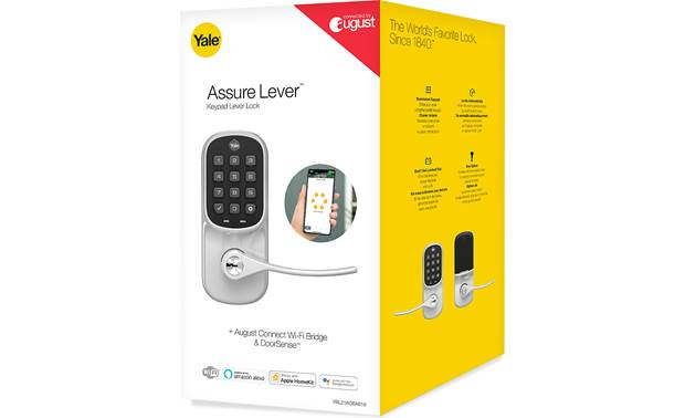 Yale Real Living Assure Lever Keypad Lock (YRL216) with Wi-Fi Module Other