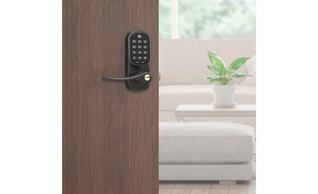 Yale Real Living Assure Lever Keypad Lock (YRL216) Stores up to 25 unique passcodes