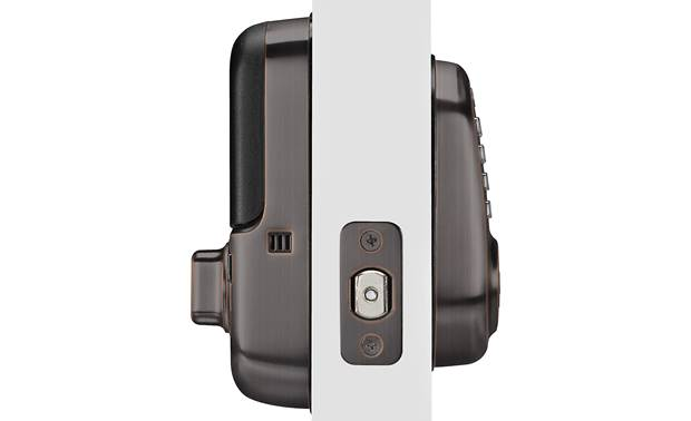 "Yale Real Living Assure Lock Keypad Deadbolt (YRD216) Powered by 4 ""AA"" batteries (included)"