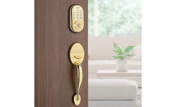 Yale Real Living Assure Lock Keypad Deadbolt (YRD216) with Z-Wave® Stores up to 250 unique passcodes