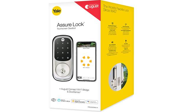 Yale Real Living Assure Lock Touchscreen Deadbolt (YRD226) with Wi-Fi Module Other